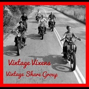 ❤️NEW! Join Us Tonight For Vintage Sharing!❤️
